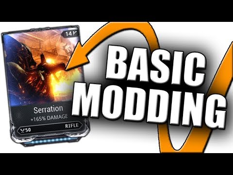 New Player Modding Guide - Warframe