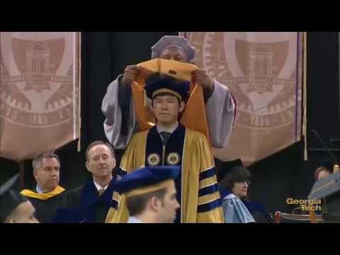 Georgia Tech Doctoral Hooding Ceremony Fall 2014