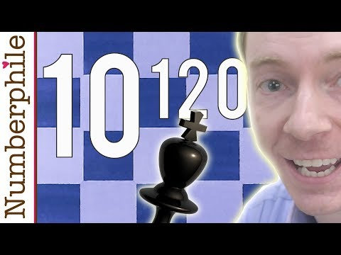 How many chess games are possible?