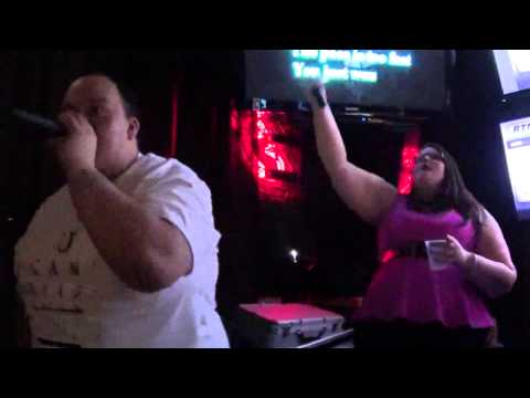 """Points of Authority"" Karaoke by Linkin Park / Sung by Jen and Hector"