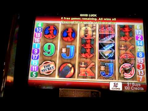 Double Agent Bonus Slot Win at Borgata in Atlantic City