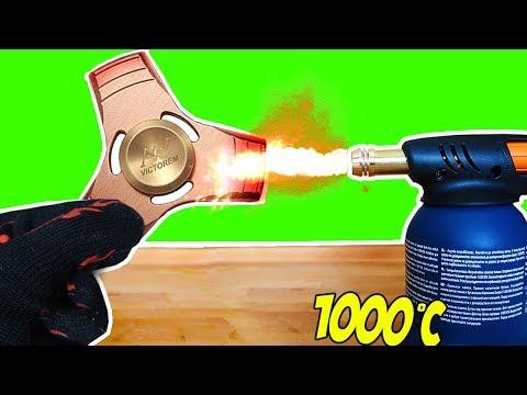 FIDGET SPINNER A 1000 GRADI INCANDESCENTE [ EXPERIMENT ]