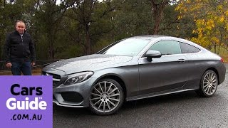 2016 mercedes benz c class coupe review   first drive video
