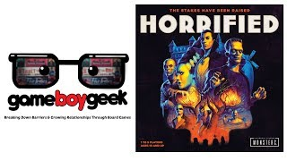 Horrified Review with the Game Boy Geek