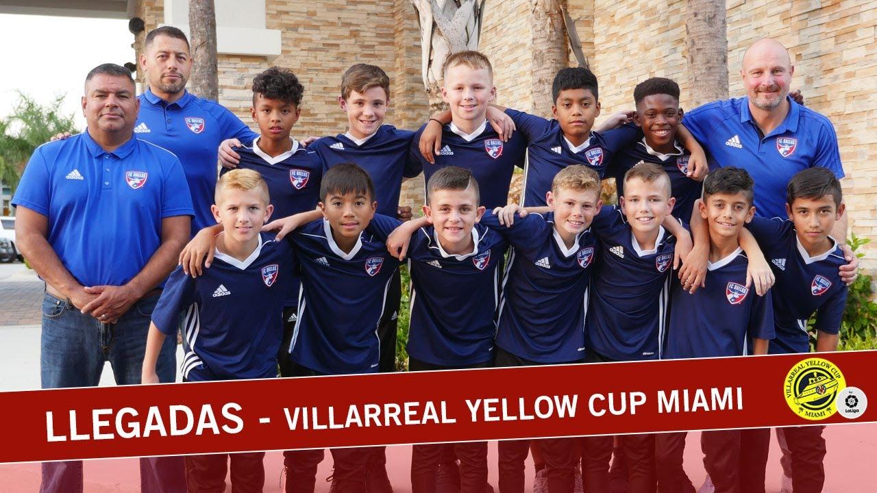 Llegada a Miami de los primeros equipos - Villarreal Yellow Cup Miami | 2019