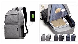 рюкзак с Aliexpress с USB разъемом для зарядки телефона