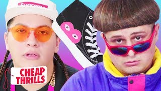 diy comme des garçons play x converse feat oliver tree cheap thrills