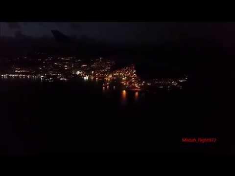 Landing in Martinique - Air tahiti Nui (Air Caraïbes) - Airbus a340-300