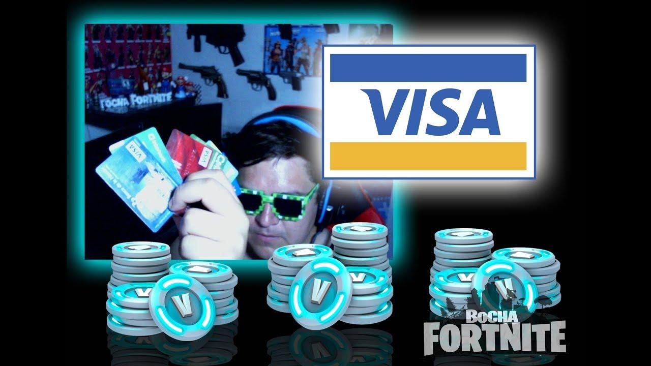 Comprando Pavos En Fornite Con Visa By El Bocha