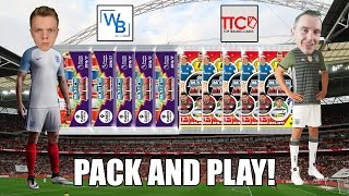 ENGLAND vs. GERMANY! Pack & Play - Match Attax 2016/17