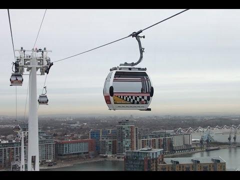 Emirates Air Line, London cable car across Thames