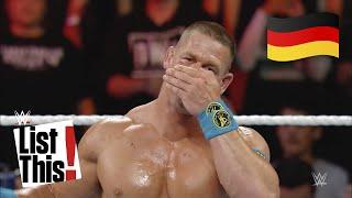 7 Superstars, die sich im Ring das Gesicht gebrochen haben: List This! (DEUTSCH)
