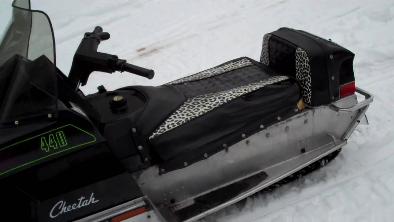 Arctic Cat Snowmobile For Sale >> 1973 Arctic Cat Cheetah 440 NOW FOR SALE 2/23/2014 $500 FIRM! - YouTube