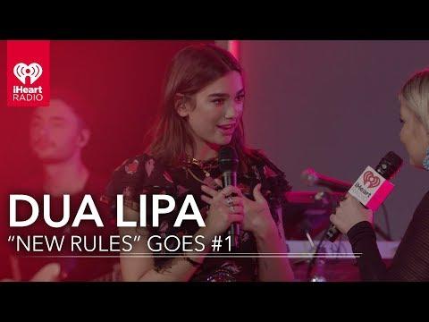 Dua Lipa First Female Artist since Adele to Have #1 | iHeartRadio Live