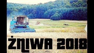 ☆Żniwa 2018 w Świętokrzyskim☆ Ekipa RolnikowoPl Bizon Rekord z058 Super z056 and Wladimirec T-25