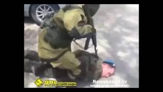 Задержание спецназом в Уссурийске средь белого дня