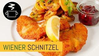 Wiener Schnitzel mit Bratkartoffeln - Zubereitung und Zutaten