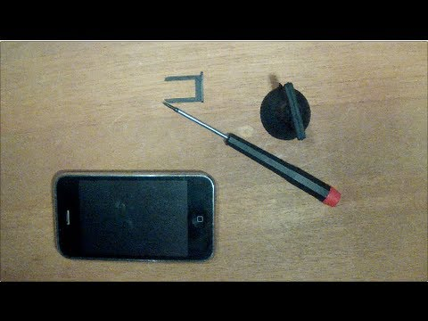 Tip: How to open a Apple iPhone 3GS