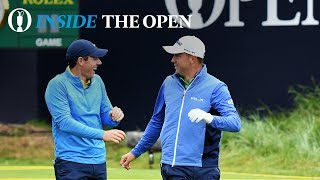 Inside The Open - JT and Rory practice on Wednesday