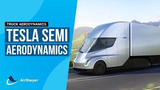 Truck aerodynamics - Tesla Semi Explained
