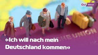Familien Ohne Zuhause — Spätaussiedler Können Nicht Nach Deutschland Einreisen