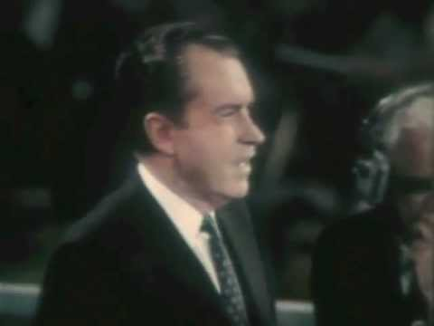 Richard Nixon Accepts the 1968 Republican Presidential Nomination