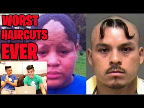 REACTING TO THE WORST HAIRCUTS OF ALL TIME!