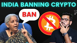 Cryptocurrency Ban in INDIA? Crypto Bill Update Bitcoin Update Today, Wazirx Update, Cryptocurrency