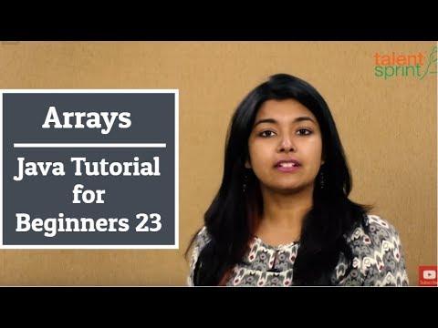 Arrays in Java | Java Tutorial for Beginners 23