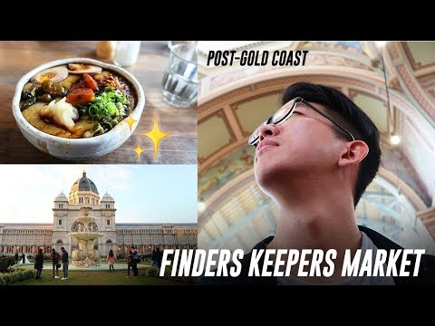 Post-Gold Coast Day in a Life + Finders Keepers Market | Vlog 34