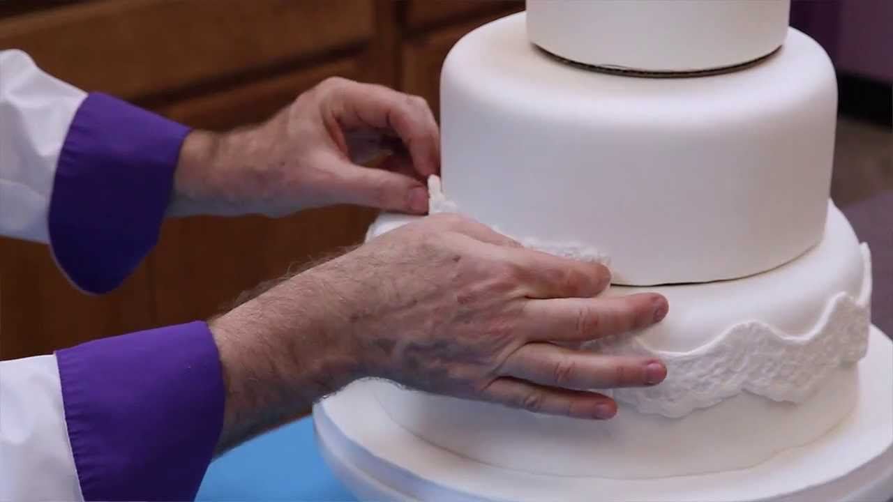 How To Make Your Own Wedding Cake Part 1 Of 2   YouTube