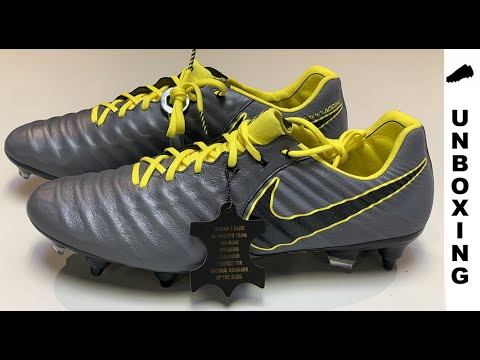 abf96b659ff Nike Tiempo Legend 7 Elite SG-PRO Game Over - Dark Grey Yellow - YouTube