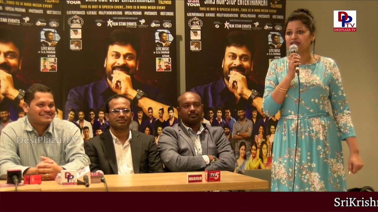 Press Meet : Exclusive Promo for MAA STARS EVENT Dallas - 2018