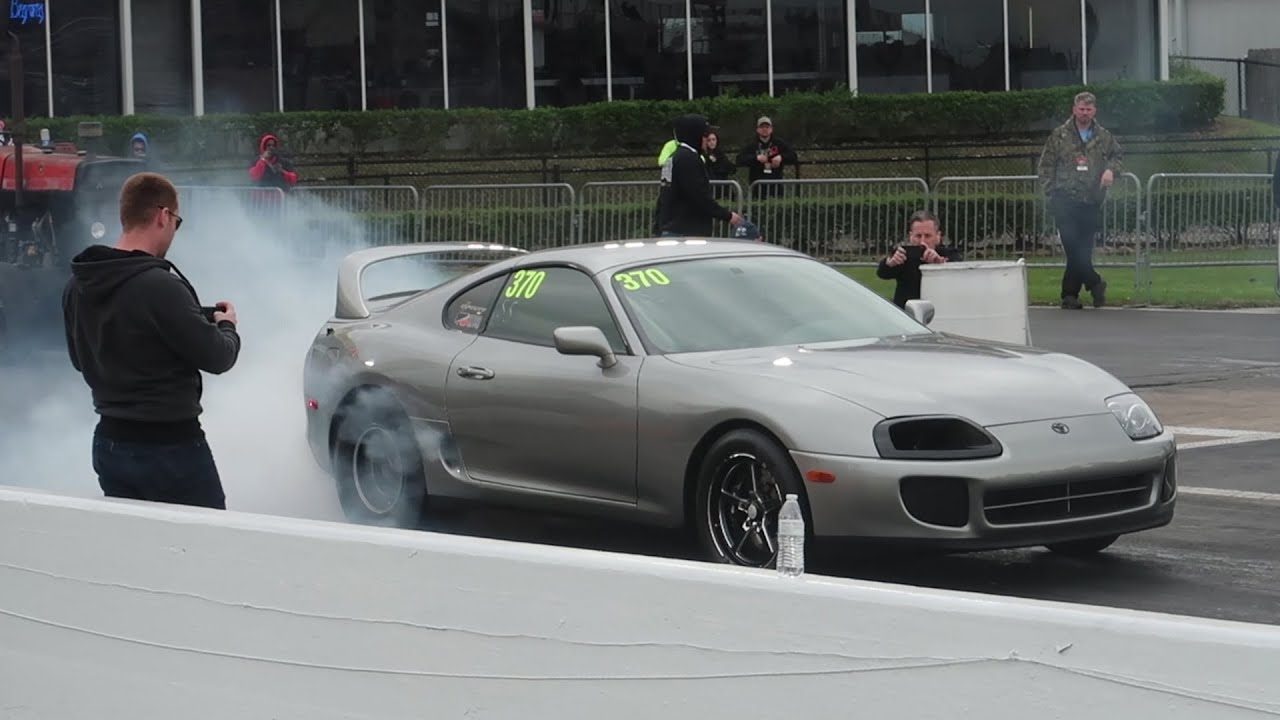 614497655e1f 1000hp SUPRA BULLIES MUSCLE CARS ON THE DRAG STRIP At TX2K19 ...