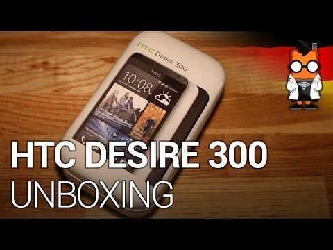 HTC Desire 300 Smartphone im Unboxing, Hands-on & Vergleich mit Moto G [GER]