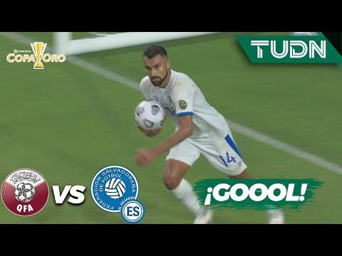 ¡TIENEN VIDA! Gol de El Salvador   Qatar 3-1 El Salvador   Copa Oro 2021 - Cuartos   TUDN