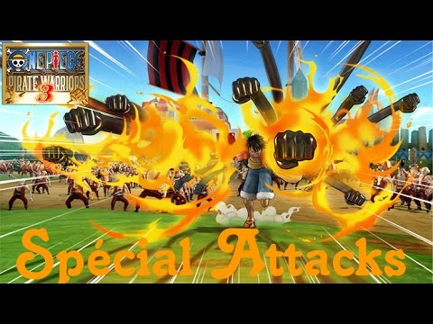 One Piece Pirate Warriors 3 All Ultimate Attack Specials (Voice Jap) [FR] 1080p
