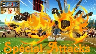 One Piece Pirate Warriors 3 All Ultimate Special Attacks (Voice Jap) [FR] 1080p