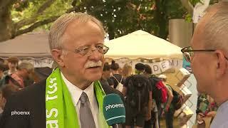 Evangelischer Kirchentag 2019: Erhard Scherfer im Interview mit Hans Leyendecker am 19.06.19