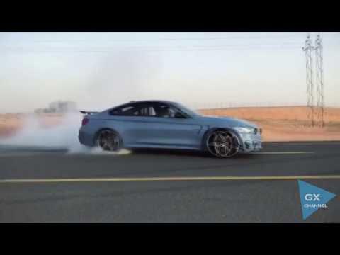 BMW M4 Drifting