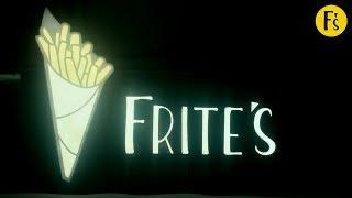 Новая франшиза фастфуда - 'Frite's' Бельгийский картофель в кульках.