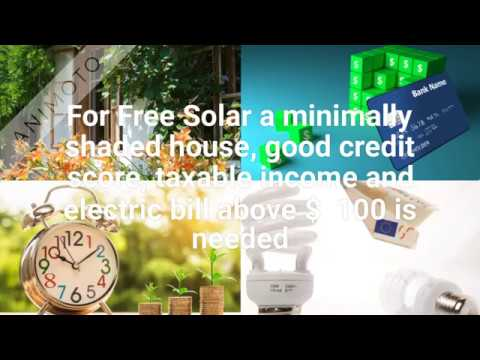 Get Zero Down Solar Installation for your Home