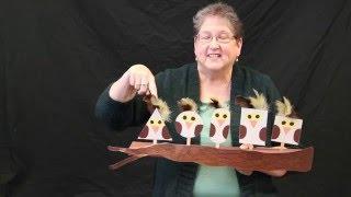 Five Little Owls - A nursery rhyme