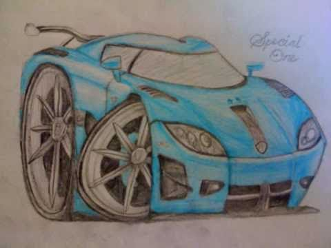 London Supercars Pencil Drawings Youtube