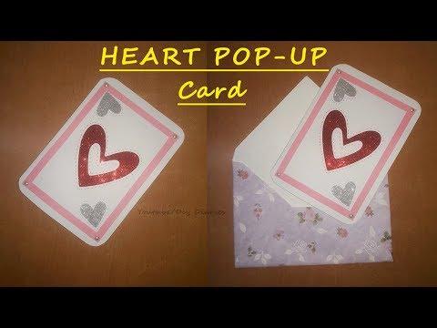 DIY Heart Pop Up Card | Easy Valentine Pop Up Card