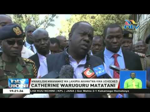 Mbunge Catherine Waruguru Ashikwa Madai Ya Uchochezi