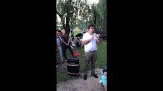 Саакашвили произвел фурор на встрече украинцев в Польше