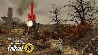 "Fallout 76 C.A.M.P Tour - ""Red Rocket Trailer"" 