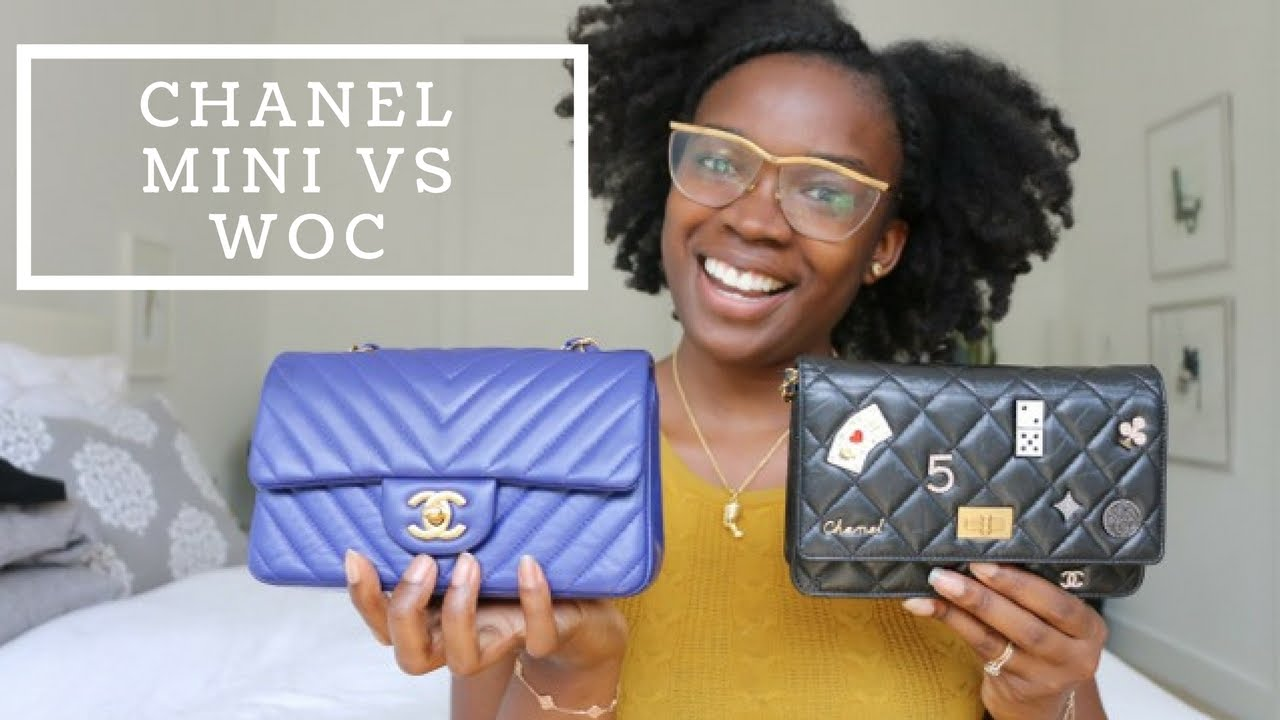 Mini Vs Woc Chanel Mini Flap Vs Woc Comparison Review