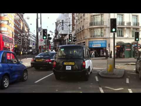 London streets (232.) - Euston Road (NW1) - Albert embankment (SE1)